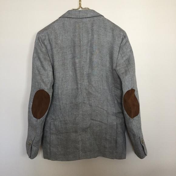 1af2e7b62b47 Massimo Dutti Suits & Blazers | Linen Mens Blazer Sz 46 | Poshmark